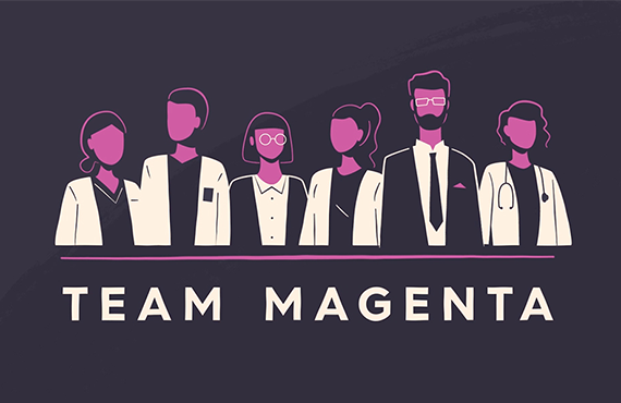 Team Magenta – Ovarian Cancer Research